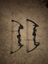 compound bows and long bows in Camp Pendleton, California