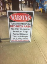 sign red neck in Kingwood, Texas