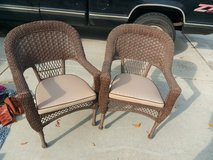 wicker outdoor chairs in Camp Pendleton, California