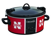NEW Nebraska Cornhuskers Crock-Pot NCAA 6-Quart Slow Cooker Bowl Games Football Basketball Party... in Kingwood, Texas