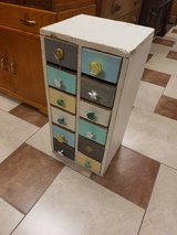 Upcycled 12 drawer nail cabinet in Fort Leonard Wood, Missouri