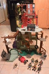 3 1/2 Ft. Tall Teenage Mutant Ninja Turtle Secret Sewer Lair Playset with Figures in Clarksville, Tennessee