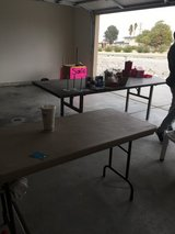 YARD SALE TABLES OR CARD TABLES in 29 Palms, California
