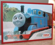 Professionally framed Thomas poster in Joliet, Illinois