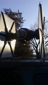 Star Wars Tie Fighter. Full size toy 2.6ftTall X2ft wide in Joliet, Illinois