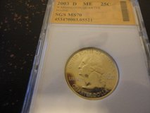 2003 d ME statehood quarter interested text 931 218 8243 in Fort Campbell, Kentucky