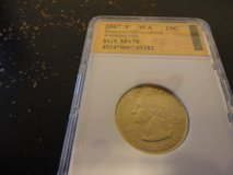 2007 p WA statehood quarter interested text 931 218 8243 in Fort Campbell, Kentucky