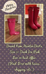 Brand New Hunter Boots in New Lenox, Illinois