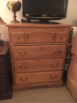 Solid oak Chest in Batavia, Illinois