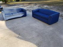 Two Blue Couches! in Warner Robins, Georgia