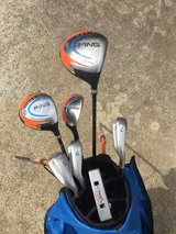 Ping Moxie youth golf clubs in Kingwood, Texas