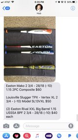 youth baseball bats-pricing on the photo in Kingwood, Texas