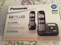 Panasonic Dect 6.0 plus Model KX-TG6592 PHONE in Travis AFB, California