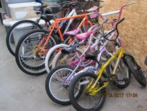 7 Bikes (USED) in Fairfield, California