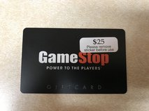 Game Stop Gift Card in Yorkville, Illinois