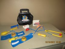 Vintage Fisher Price Doctor Bag Medical Kit w Accessories 1987 in Batavia, Illinois