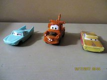 "2006 4"" McDonald's Happy Meal Toy Disney Pixar Cars - Lot of 3 in Batavia, Illinois"