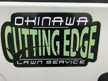 Lawn services in Okinawa, Japan
