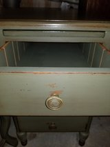 Antique Desk and Chair (Olive) in Quantico, Virginia