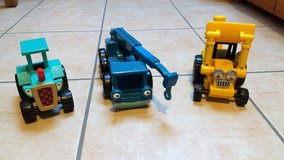 3 Bob the builder vehicles in Spangdahlem, Germany