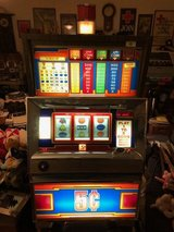 coin operated Slot machine nickel 5 cent in Camp Lejeune, North Carolina