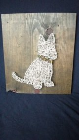 """""""my little dog"""" string art wall hanging in Elgin, Illinois"""