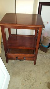 (2) Pier 1 Anywhere tuscan end table with pull handles in Elgin, Illinois
