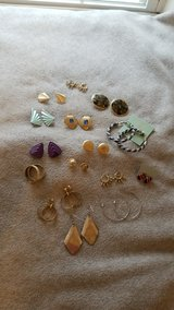 Earring Lot - 15 pairs in Shorewood, Illinois
