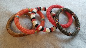 5 beaded bracelets in Shorewood, Illinois