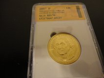 2007 p Presidential dollar  george washington   ms70 interested text 931 218 8243 in Fort Campbell, Kentucky