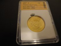 2007 p Presidential dollar  james madison satin    ms70stn interested text 931 218 8243 in Fort Campbell, Kentucky