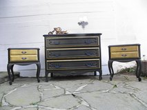 Chest of Drawer and two Nightstands French Style in Ramstein, Germany
