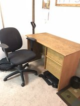 DESK AND OFFICE CHAIR in Vacaville, California