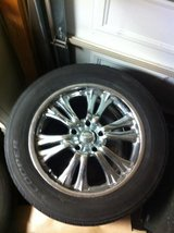MB Motoring Wheels. 20x8.5J. Came off a 2005 Dodge 1500 in Camp Pendleton, California