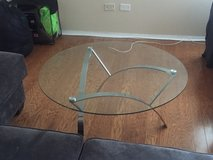 Round Glass Coffee Table in San Diego, California