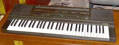 ELECTRONIC KEYBOARD Casio model CPS-201 in Conroe, Texas