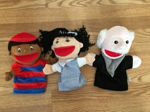 2 Lakeshore Puppets + 1 extra in Fort Belvoir, Virginia