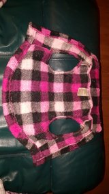 PINK PLAID DOG SWEATER in Glendale Heights, Illinois