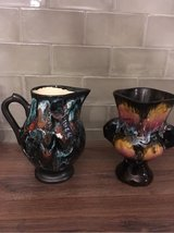 vintage pottery from France jug and vase in Ramstein, Germany