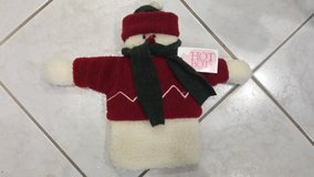 RARE Woof and Poof Snowman Hot Water Bottle in Lockport, Illinois