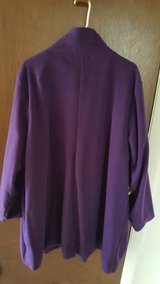 PURPLE FLEECE SWEATER in Bartlett, Illinois