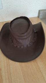 BROWN LEATHER HAT in Bartlett, Illinois