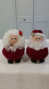 Mr. and Mrs. Claus in Plainfield, Illinois
