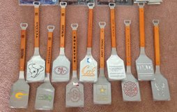 LAST MINUTE XMAS GIFT sports, military, hobby grilling BBQ cooking spatulas & tongs (75% off) in Vacaville, California