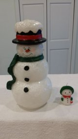 "Snowman candle - 8"" tall in St. Charles, Illinois"