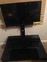"32"" Proscan Flat Screen T.V. with remote and  2 shelf glass stand in Camp Lejeune, North Carolina"