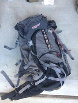 Jansport trekking back pack in Camp Pendleton, California