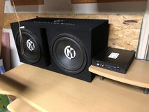 "Sub 12"" Memphis audios with amp in Fort Campbell, Kentucky"