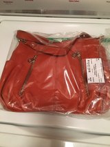 Brown leather purse (new) in Naperville, Illinois