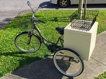 Cool Adult Tricycle with carrier in Okinawa, Japan